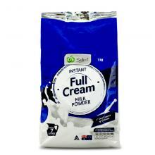 澳洲woolworths學生成人全脂奶粉1kg【包邮】