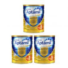 Nutricia Aptamil可瑞康爱他美金装 婴幼儿奶粉1段 3罐一箱装 适用于0-6个月婴儿 【包邮】