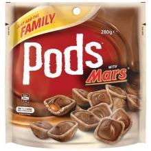 Pods 巧克力夹心脆粒酥 2种口味 280g
