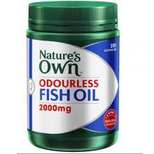澳洲Natures Own 2000mg 无腥味深海鱼油 软胶囊 200粒