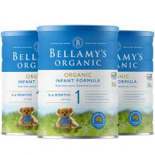 Bellamy's贝拉米奶粉1段 3罐一箱装【包邮】
