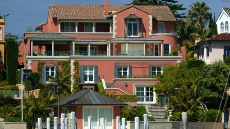Malcolm Turnbull's current home in Sydney's Point Piper.